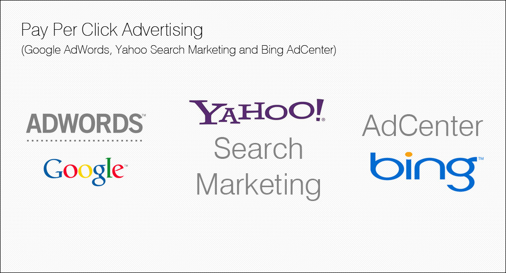 Pay Per Click Advertising for your Business in Google, Yahoo and Bing